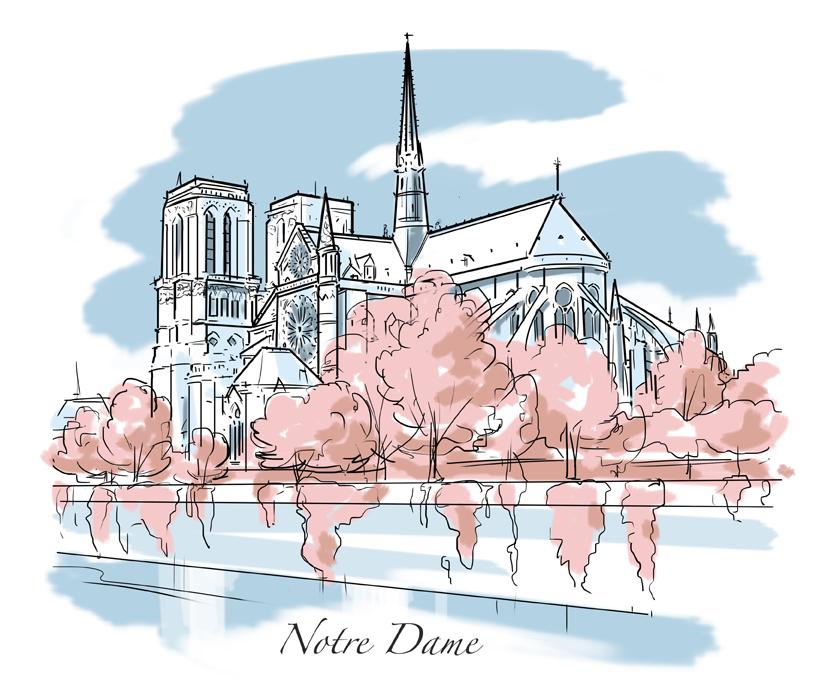 Wedding_Notre Dame