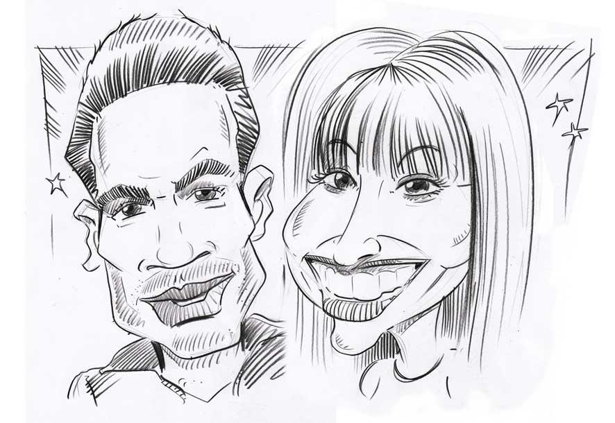 X-factor caricatures