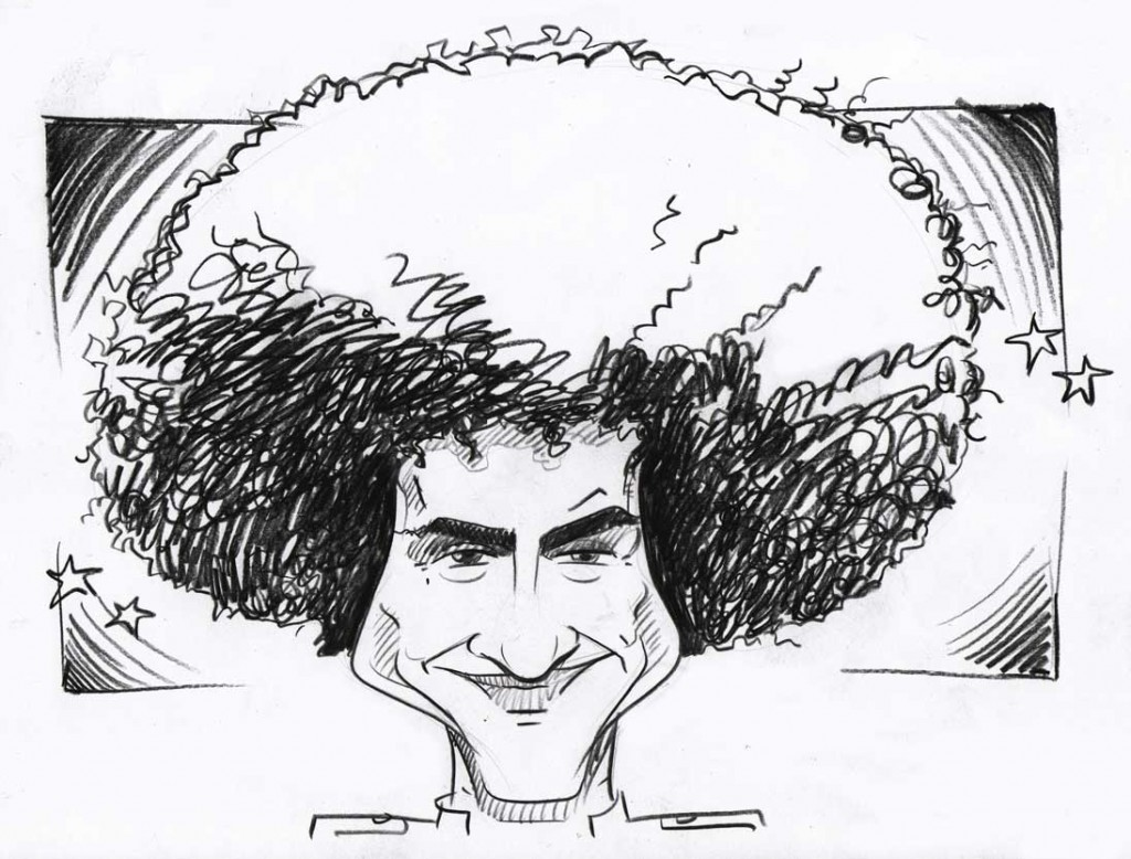 party guy caricature